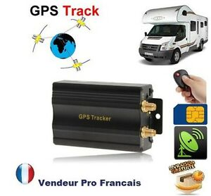 traceur gps antivol auto camping car voiture carte sim. Black Bedroom Furniture Sets. Home Design Ideas