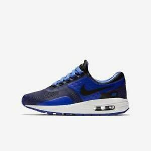 Detalles de Juniors Nike Air Max cero esencial GS NegroAzul 881224 004 la venta!!! ver título original