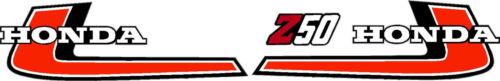 Z50 Mini Trail 50 Graphics, 1976 Gas Tank  Decals