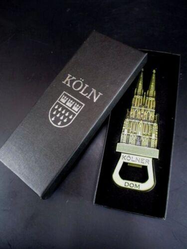 Cologne Cologne DOM 3d Métal Ouvre-bouteille magnétique 12,5 cm SOUVENIR GERMANY