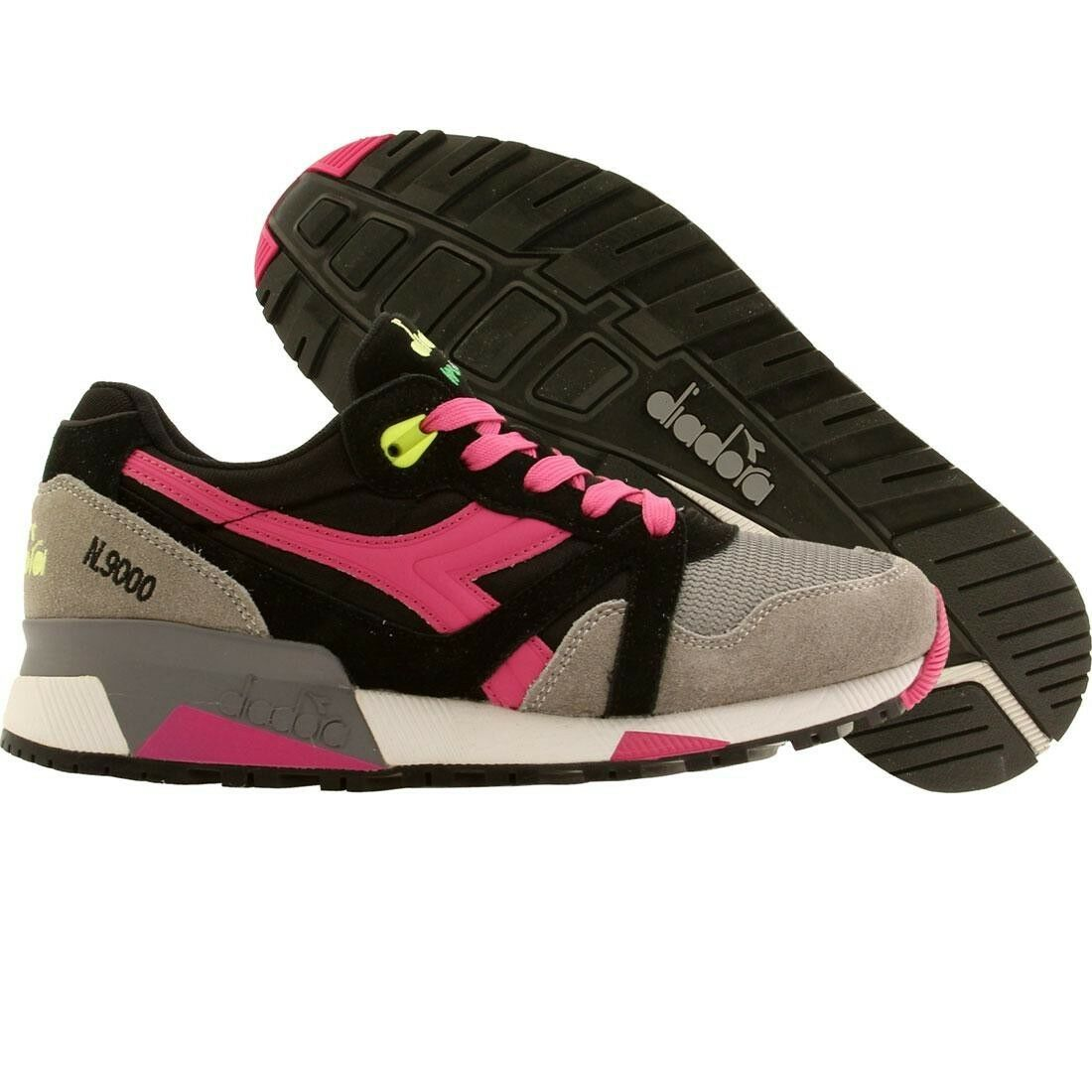 150 Diadora Women N9000 NYL black ice grey magenta 160827C5926