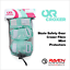 miniature 15 - Roller Skate Safety Gear Protecteurs-croxer taille moyenne-Runner Noir Ou Vert Menthe