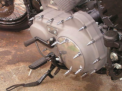 HARLEY Sportster Chrome Pike Rear Axle Covers