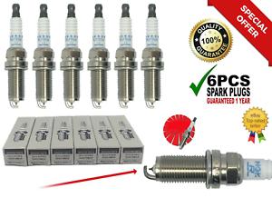 6pcs NGK Laser Platinum Spark Plugs for NISSAN PLFR5A-11 22401-5M015 US Stock