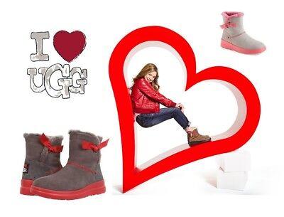 Dettagli su NIB UGG Australia Women's Kristin Chestnut Treadlite Snow W Winter Boots PK SIZE