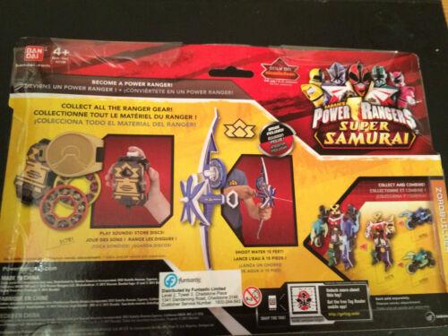 *** nuovo *** raro POWER Rangers SAMURAI HYDRA Fiocco SIGILLATO BOX SET