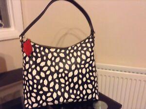 Grab Guinness White Lulu Lips Bag Black 0mN8vnwO
