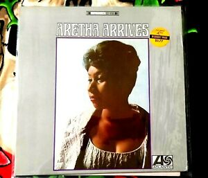ARETHA FRANKLIN ARETHA ARRIVES VINYL LP 1967 ORIGINAL STEREO ATLANTIC RECORDS