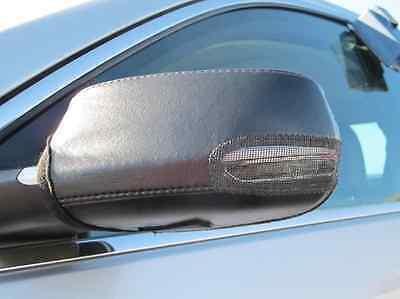 Colgan Car Mirror Covers Bra Protector Black Fits 2013-2015 Tesla S Sedan