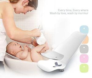 MurMur] Baby Bath Baby Bidet Bath assistance seat w/ Silicone Pad ...