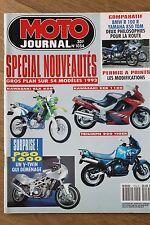 MOTO JOURNAL 1054 BMW R100 R YAMAHA TDM 850 HONDA CB 750 KAWASAKI Zephyr Z900