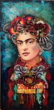 "MX06137 Frida Kahlo - 1907- 1954 Self–Taught Self Portraits Art 24""x49"" Poster"