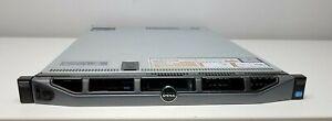 Dell PowerEdge R620 Xeon E5-2670 2.60GHz 64GB RAM No HDDs PERC H710 Mini