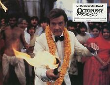 JAMES BOND 007 ROGER MOORE OCTOPUSSY 1983 VINTAGE PHOTO LOBBY CARD N°7