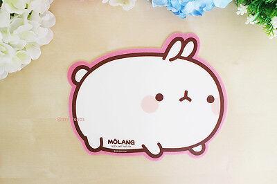 MOLANG Lovely Cute Character Shape Mouse pad (Molang Mousepad Side)