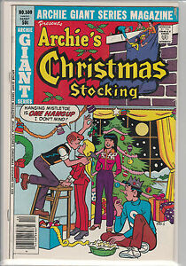 Archie-039-s-Christmas-Stocking-500-Archie-Giant-Series-G-COMIC