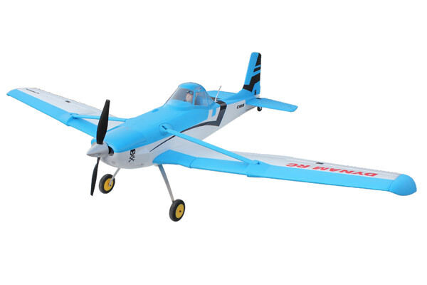 Dynam Cessna 188 AGwagon 1500mm ARTF bluee Civilian Aircraft no Tx Rx Bat Chg