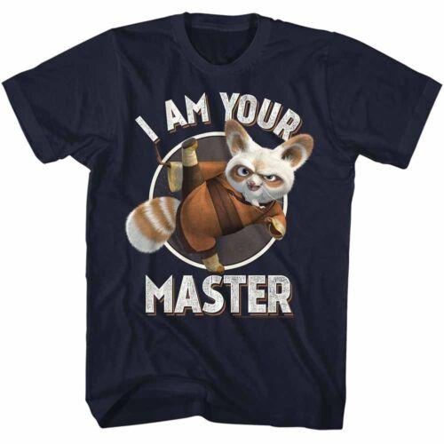 Kung Fu Panda T-Shirt Shifu I Am Your Master Navy Tee