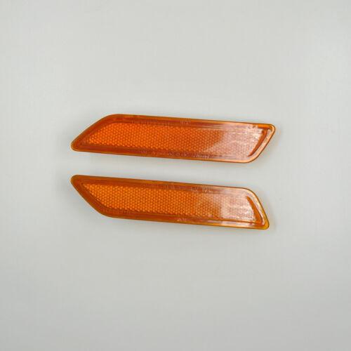 A Pair Front Bumper Side Turn Signal Lamp Marker for Chrysler Sebring 2007-2010