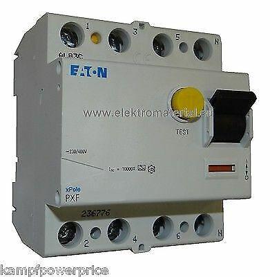 Moeller Eaton  FI Schutzschalter 4pol 63A 30mA 0,03A