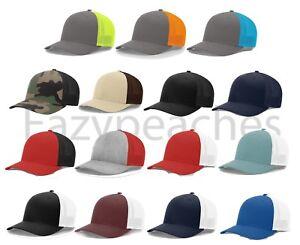Brand-New-Richardson-Trucker-Baseball-Cap-Meshback-Hat-Fitted-Cap-110