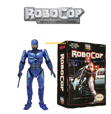 FIGURA  ROBOCOP Clássico 1987  PART MAN PART MACHINE 18CM
