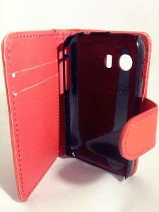 RED-WALLET-Leather-Case-Card-Slots-Phone-Cover-Samsung-Galaxy-Young-GT-S5360