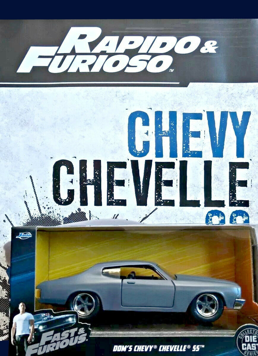 DOM's Chevrolet Chevelle-rápido Y Furioso-Rapido Y Furioso la Nación plataina