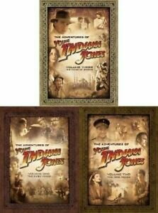 The-Adventures-of-Young-Indiana-Jones-1-3-DVD-Set-Series-TV-Show-Collection-Lot