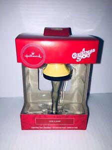 New in box Hallmark A Christmas Story Leg Lamp Ornament ...