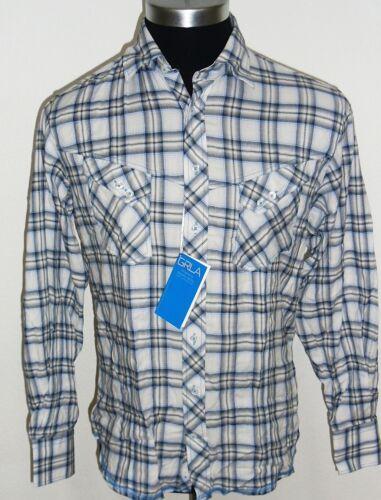 Blue S-3XL NEW GEORG ROTH Abstract Design Long Sleeve Modern Dress Shirt