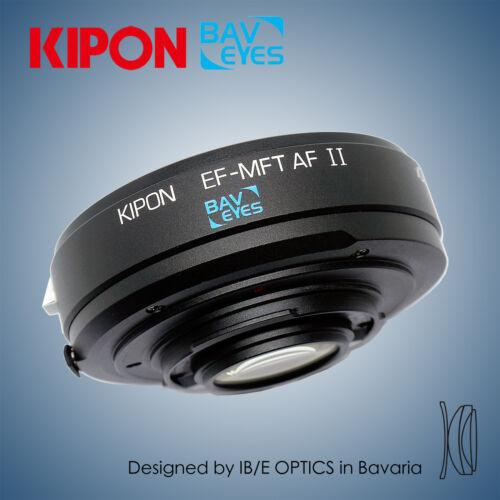 Version Baveyes 0.7x Enfoque automático Adaptador II para Cámara Canon EOS a m4//3 MFT