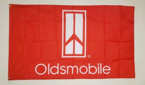 Oldsmobile Banner 3x5 Ft Flag Garage Wall Decor Car Show Gift Cutlass 442 Alero
