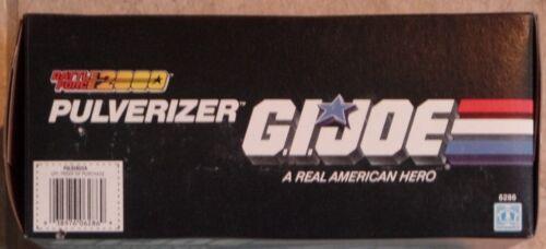 Scellé Gi Hasbro Battle 1988 Pulverizer Rare Joe Force Nouveau 2000 Misb qzZ6q1