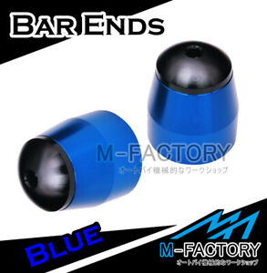 Blue CNC Bar Ends Sliders For Kawasaki ZRX 1100/1200 1999-2005 00 01 02 03 04
