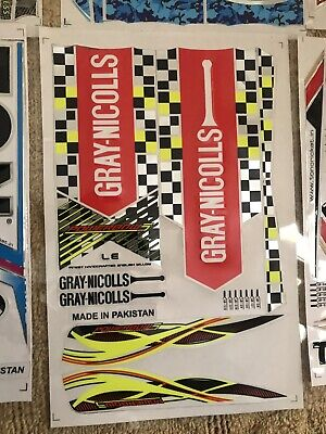 CRICKET BAT STICKER WITH EMBOSS CHROME COLOR 2019 Model