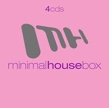 CD Minimal House Caja de Varios Artistas 4CDs