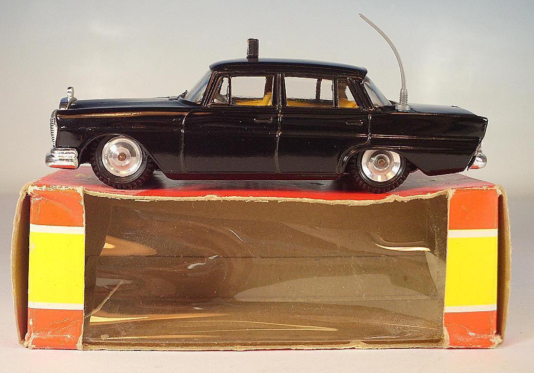 GAMA Mini-Mod 1 47 Nr. 9353 Mercedes Benz 220 S Limousine Taxi OVP  6388