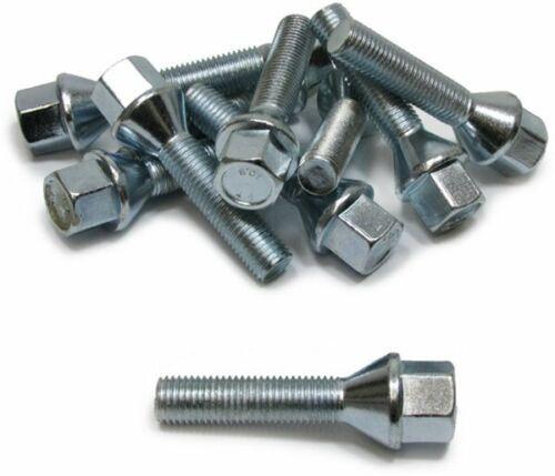 10 Radbolzen Radschrauben Kegelbund M12x1,25 35mm