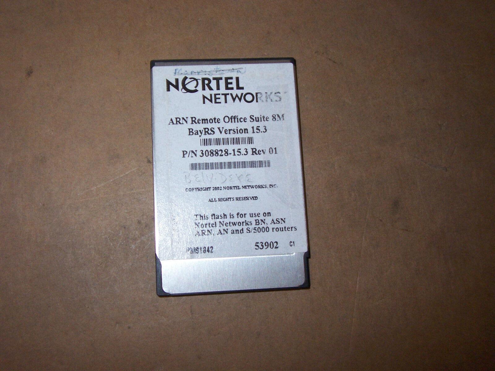 NORTEL ARN REMOTE OFFICE SUITE 8M BAYRS VERSION 15.3 P N 308828-15.3 REV. 01