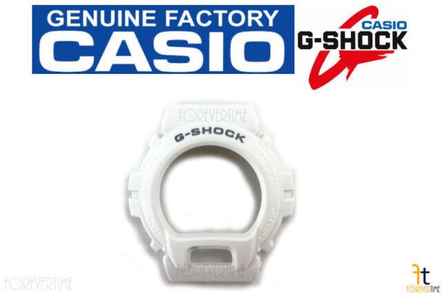 CASIO DW-6900MR-7 Original G-Shock White BEZEL Case Shell