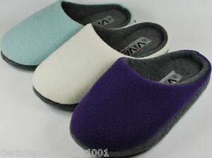Damen-Filz-Pantoffel-Hausschuhe-lila-blau-oder-creme-Gr-36-37-38-39-40-41-NEU