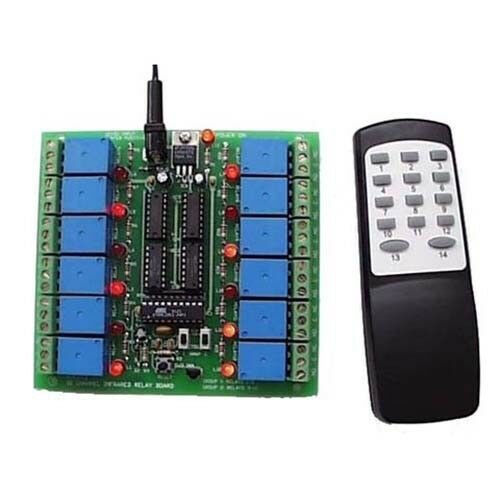 12 Channel Infrared Relay Board Kit Requires Assembly
