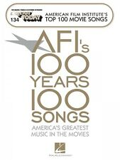 E-Z Play Today: AFI's 100 Years, 100 Songs : America's Greatest Music in Movies (2007, Paperback)