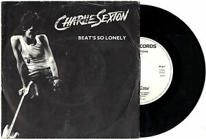 CHARLIE-SEXTON-disco-45-giri-BEAT-039-S-SO-LONELY-ATTRACTIONS-Made-in-Italy