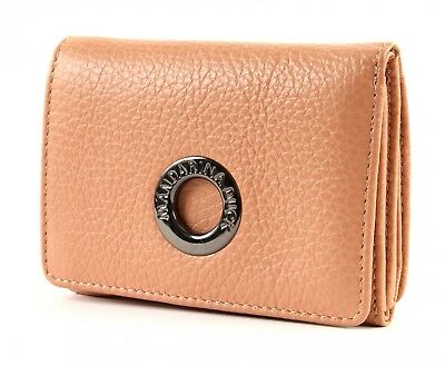 2019 Moda Mandarina Duck Mellow Leather Wallet Portafoglio Xs Vienna Scatola Dusty Rose-mostra Il Titolo Originale Beneficiale Per Lo Sperma