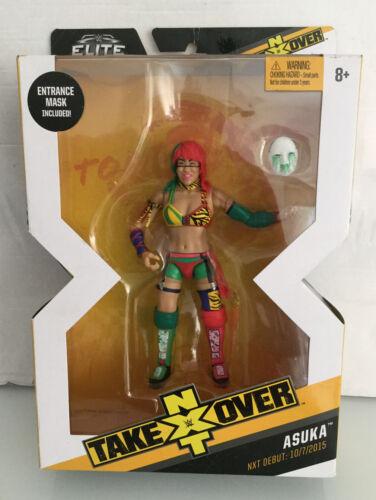 Wwe//Wwf//NXT MEGA RARE Asuka Elite Collection Wrestling Figure Doit voir WOW!