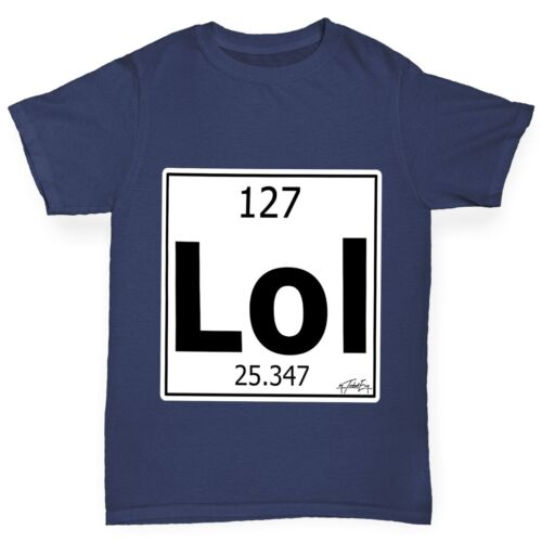 Twisted Envy Boy/'s Funny Element Lol Laughing Out Loud T-Shirt