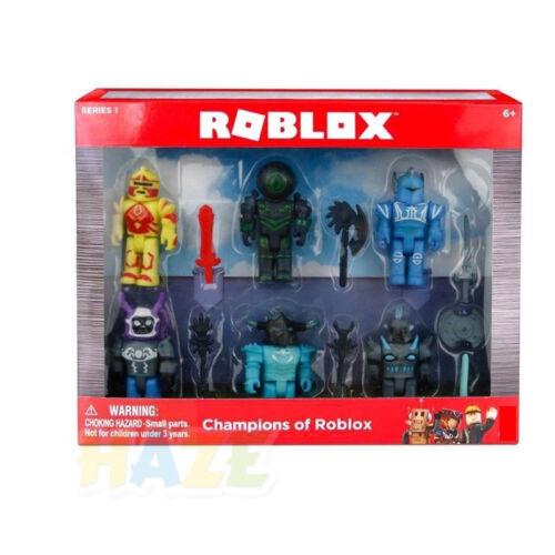 Roblox GAME 7 SERIE ACTION FIGURE CHAMPION ROBOT SIRENA Building Blocks giocattolo regalo