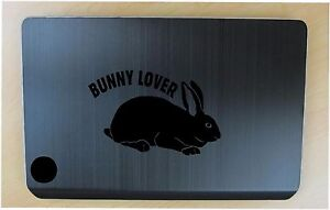 Bunny decal in 7 colors